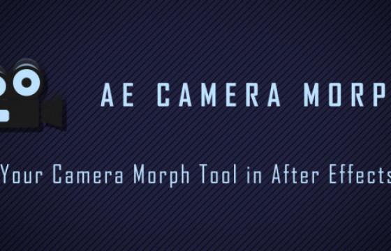AE脚本 多机位摄像机动画合成脚本 Aescripts AE Camera Morph v1.1.1