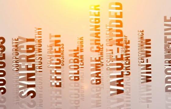 AE模板-关键词标题LOGO标志动画 3D Titles Corporate Logo
