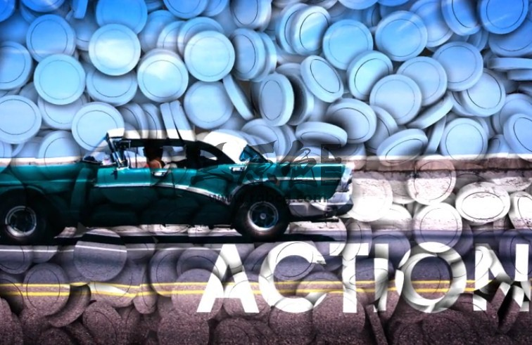 AE模板-创意3D圆形组合幻灯片放映效果 3d Projection Slide Show Ae 模板-第1张