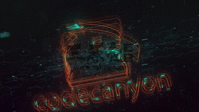 AE模板 动作片开场LOGO描边动画片头 Action Glitch Logo Reveal Ae 模板-第1张