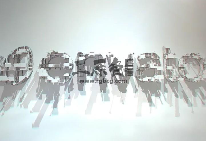 AE模板-E3D建筑工程动画LOGO标志显示片头 Architect Logo Ae 模板-第1张