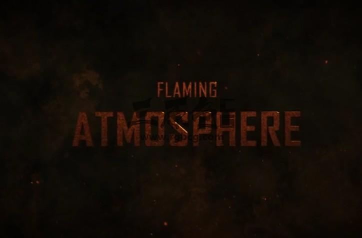 AE模板 电影大片文字标题预告片头 Blockbuster Movie Titles Ae 模板-第1张