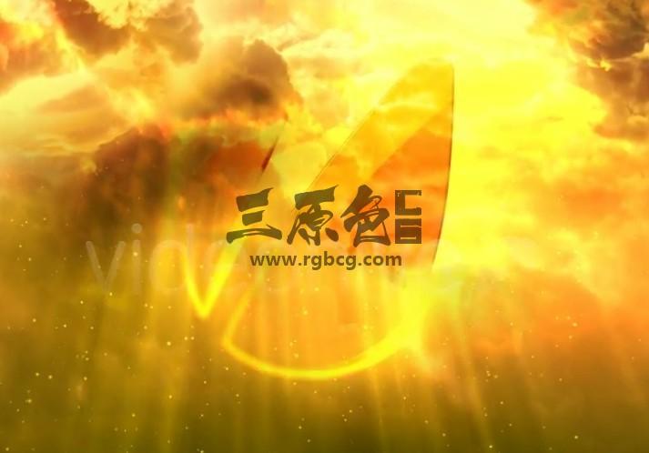 AE模板:电影片头天空白云LOGO揭示 Cinematic Clouds Logo Reveal Ae 模板-第1张