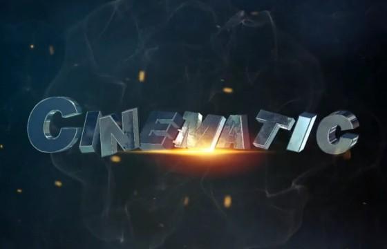 AE模板-电影游戏预告片 三维文本动画片头 Cinematic Movie Trailer