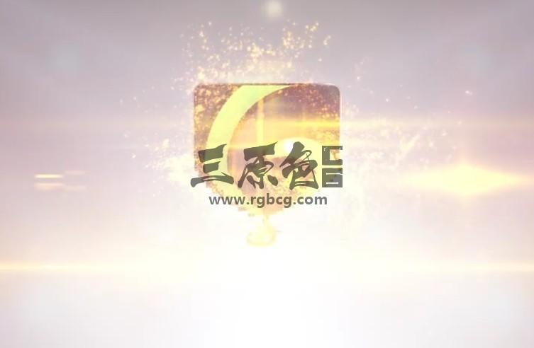 AE模板 优雅的粒子飞舞变形LOGO标志显示 Clean Elegant Logo Ae 模板-第1张