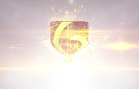 AE模板 优雅的粒子飞舞变形LOGO标志显示 Clean Elegant Logo