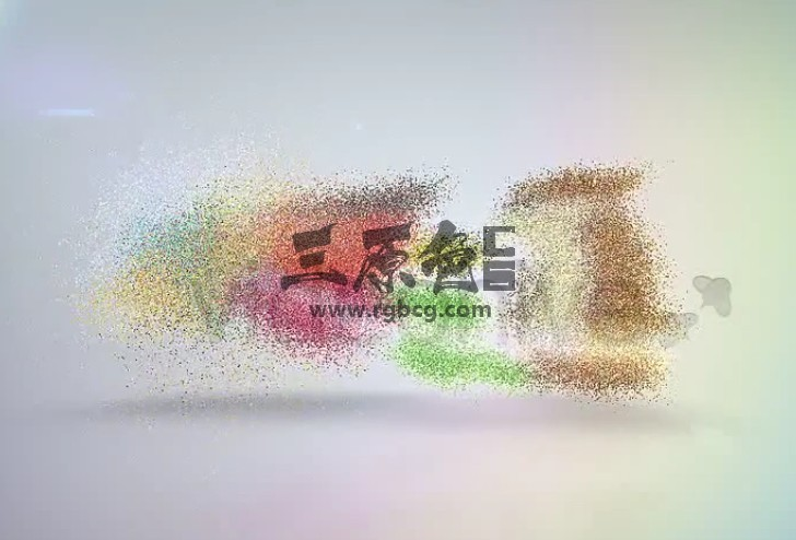AE模板 优雅的粒子消散汇聚LOGO动画 Elegant Corporate Identity Ae 模板-第1张