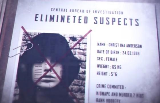 AE模板 犯人危险人物通缉 犯罪档案展示 Crime File