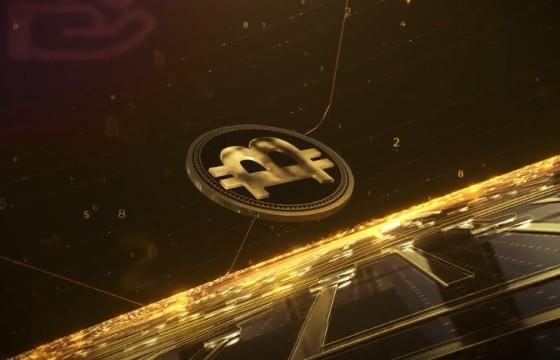 AE模板 金融安全LOGO片头动画 Crypto Money Logo