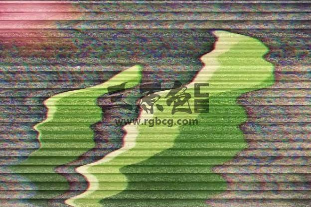 AE模板 画面信号干扰失真混乱片头 Damaged Glitch Logo Intro Ae 模板-第1张