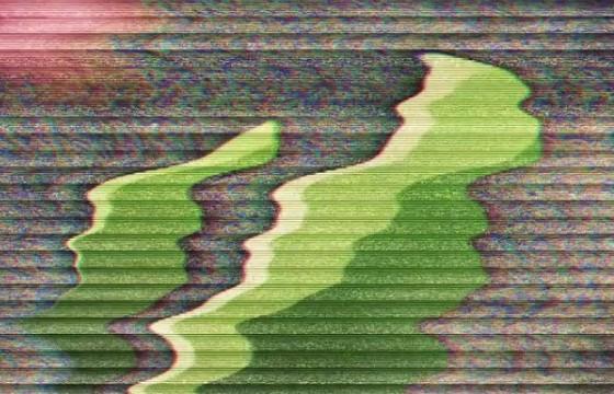 AE模板 画面信号干扰失真混乱片头 Damaged Glitch Logo Intro