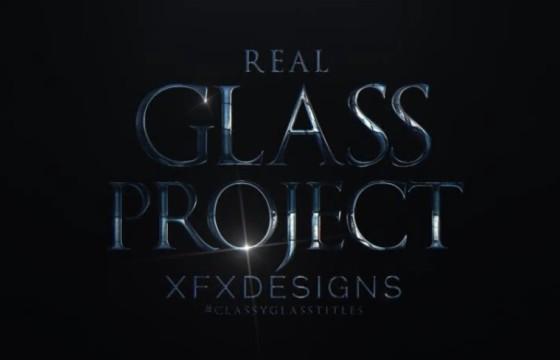 AE模板-电影游戏宣传预告片文字标题动画片头 Dark Titles