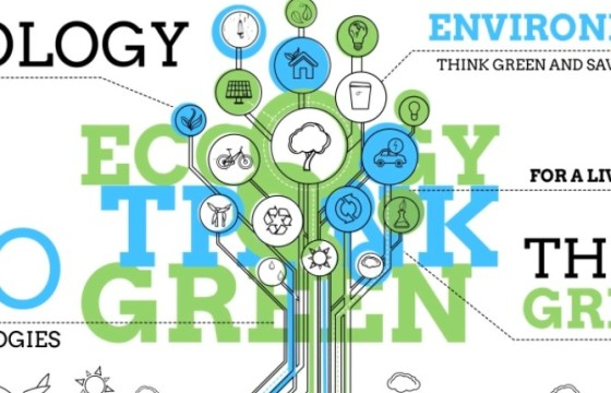 AE模板 绿色环保生态信息图表动画 Ecology Infographics