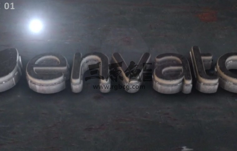 AE模板-优雅的E3D大理石LOGO展示 Elegant 3D Marble Logo Ae 模板-第1张