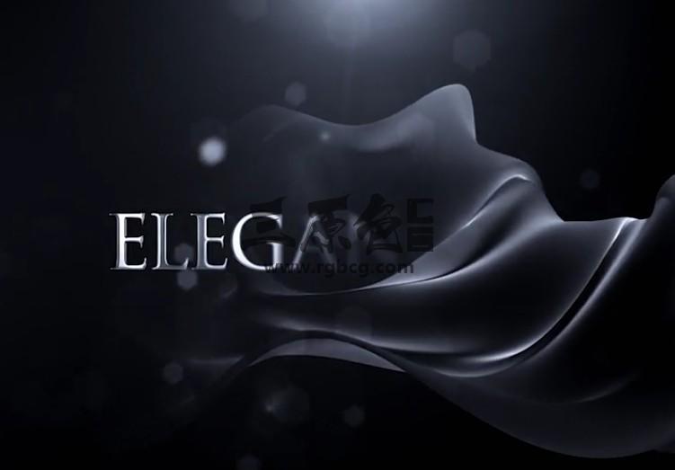 AE模板 优雅的LOGO徽标幕布揭示 Elegant Logo Reveal Ae 模板-第1张