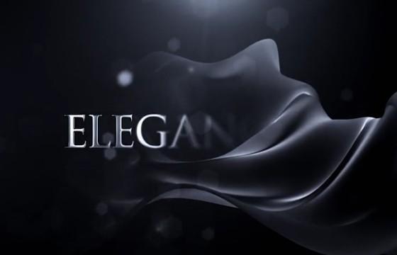 AE模板 优雅的LOGO徽标幕布揭示 Elegant Logo Reveal