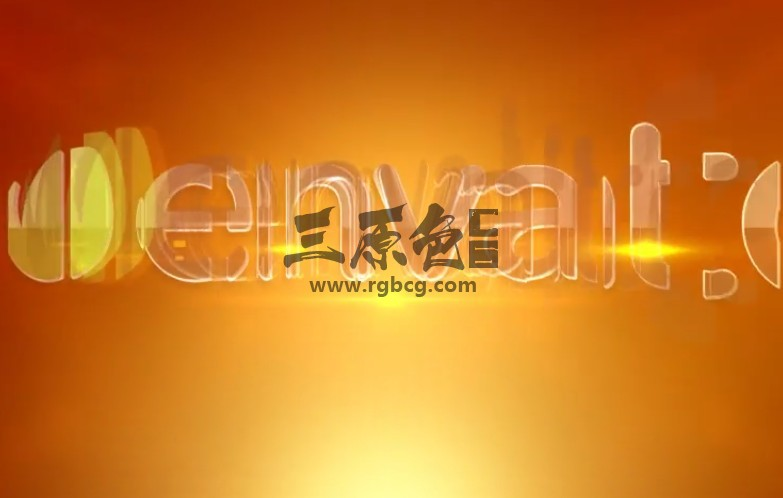 AE模板 优雅的光线LOGO标志拖影效果展示 Elegant Rays Logo Ae 模板-第1张