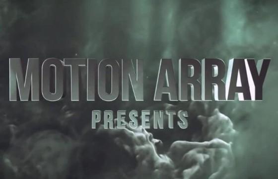 AE模板 动作片电影游戏预告片 三维文字标题 Element 3D Titles