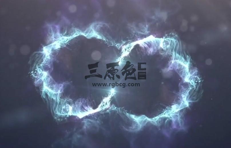 AE模板 粒子光效能源LOGO标志2合1 Energy logo 2 in 1 Ae 模板-第1张