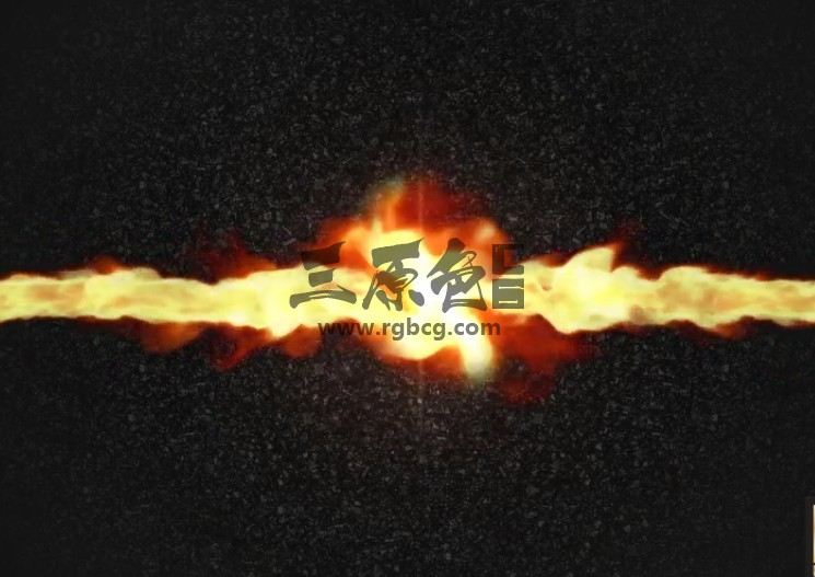 AE模板 火焰烟雾撞击LOGO徽标显示 Fire Smoke Logo Reveal Ae 模板-第1张