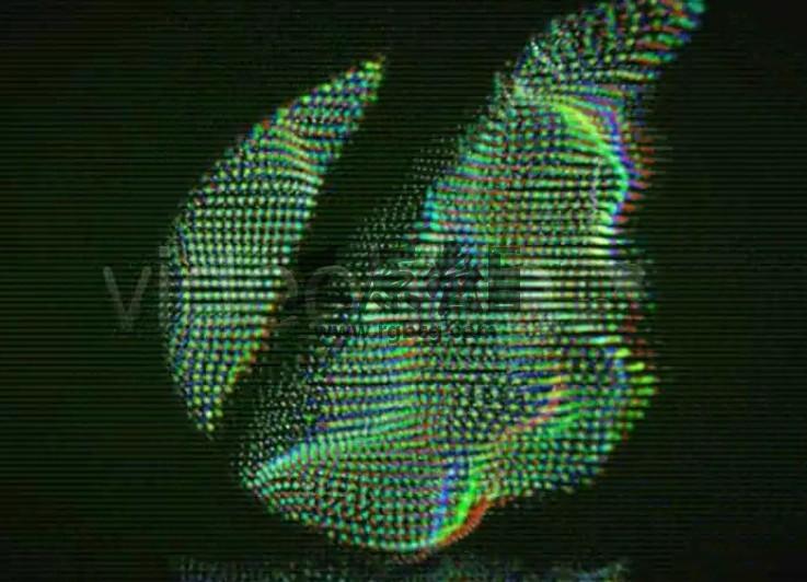 AE模板 信号干扰 画面损坏重叠效果 Glitchy Logo Reveal Ae 模板-第1张