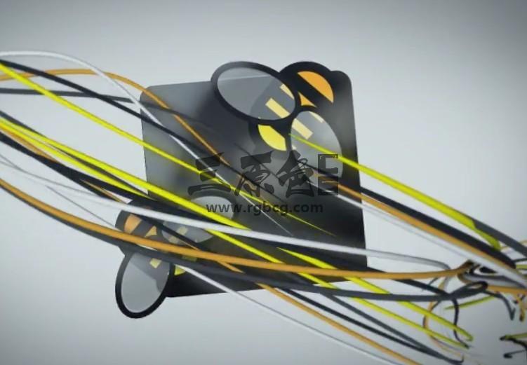 AE模板 细带线条LOGO动画 Impact Logo Reveal 02 Ae 模板-第1张