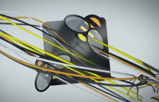 AE模板 细带线条LOGO动画 Impact Logo Reveal 02
