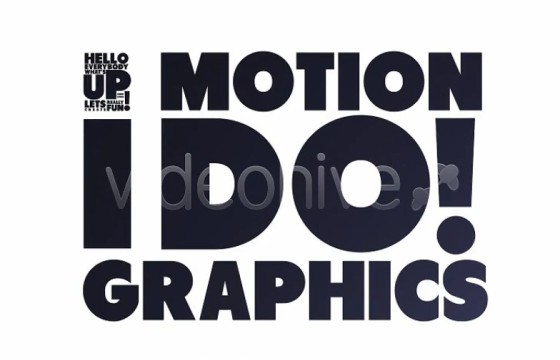 AE模板 文字标题动力学排版动画 Typography Opener