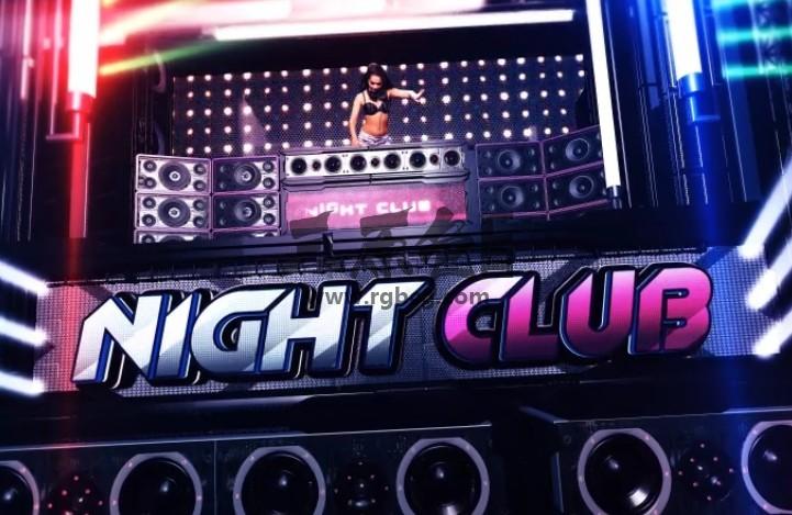 AE模板-酒吧夜总会狂欢派对现场 Night Club Party Promo Ae 模板-第1张