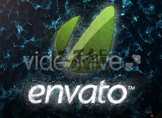 AE模板 海洋LOGO标志显示片头 VideoHive Ocean Logo Ae 模板-第1张