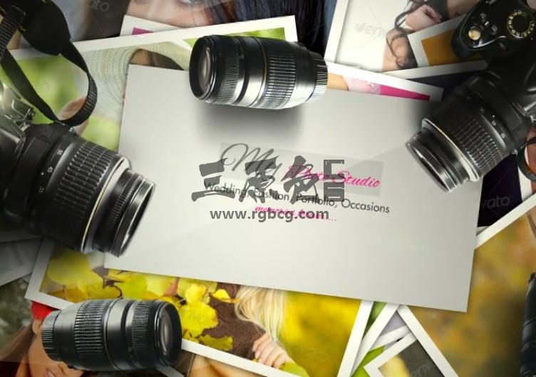 AE模板 摄影师摄影作品展示LOGO片头 Photographer Logo Ae 模板-第1张