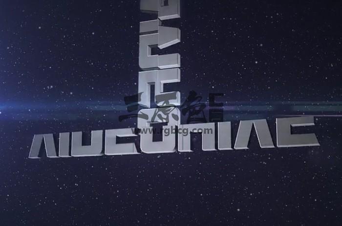 AE模板 文字LOGO标志变形显示动画片头 Quick Logo Transforming Ae 模板-第1张