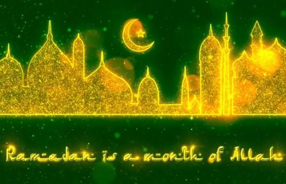AE模板:伊斯兰教斋月动画 VideoHive Ramadan Opener