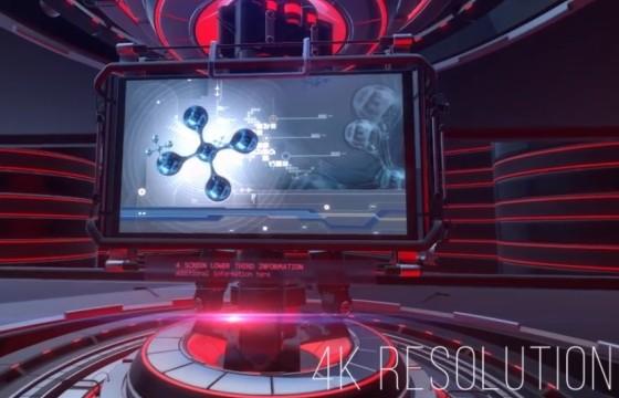 AE模板 三维视频栏目包装片头 VideoHive Slideshow