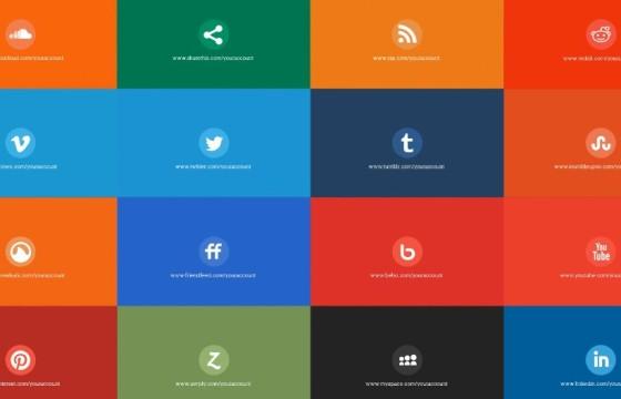 AE模板 简易MG图形LOGO显示展示动画 Social Pack Toolkit