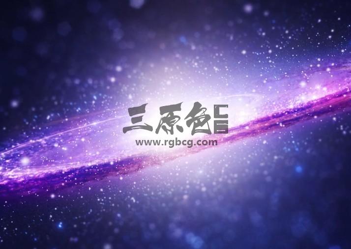 AE模板 银河系太空标志LOGO显示动画 Space Logo Reveal Ae 模板-第1张