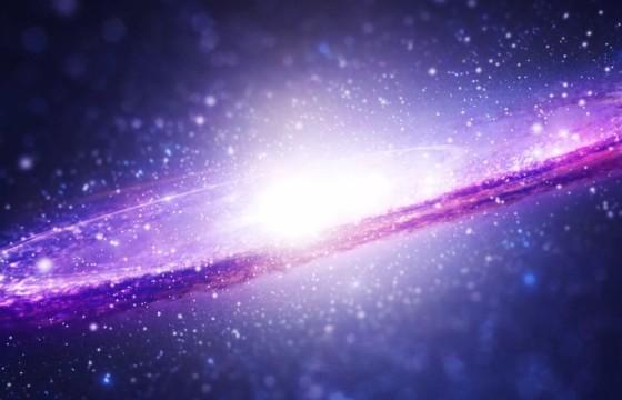 AE模板 银河系太空标志LOGO显示动画 Space Logo Reveal
