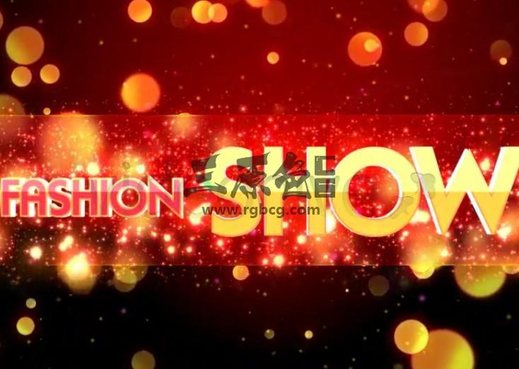AE模板 时尚粒子飞舞幻灯片 Stylish Fashion Slide Show Ae 模板-第1张