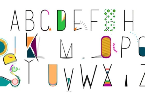 AE模板 创意英文字母MG动画显示 Videohive Alphabet