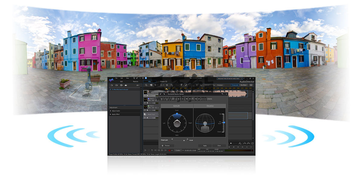 音频剪辑处理软件 CyberLink AudioDirector Ultra v9.0 中文版 影视后期-第2张