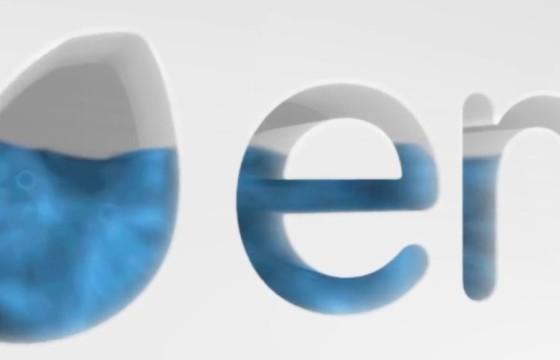 AE模板 三维流体遮罩填充LOGO显示 3D Fluid Fill Logo Reveal