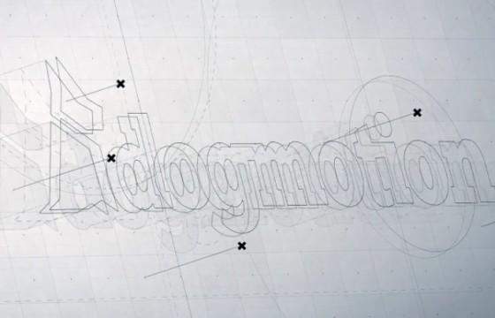 AE模板-手绘素描线条LOGO动画展示片头 3D Logo Reveal
