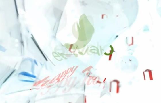 AE模板 三维圣诞节五角星礼物LOGO片头 3D Opener