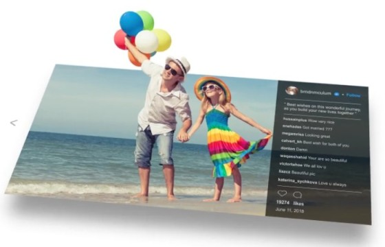 AE模板 三维立体照片弹出动画展示 3D Photo Pop Out