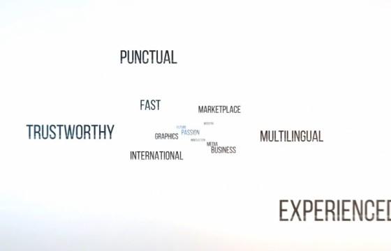 Pr模板-Mogrt基本图形模板 关键词快闪动画 A Few Notes