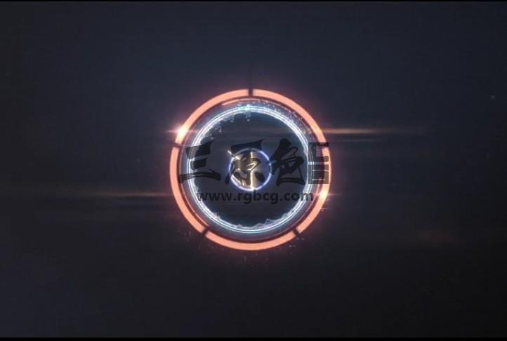 AE模板 抽象的圆形LOGO徽标展示 Abstract Circular Logo Ae 模板-第1张