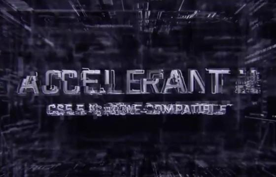 AE模板 文字标题重叠变形显示动画 VideoHive Accelerant