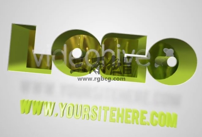 AE模板-视频创意文字遮罩LOGO动画 VideoHive Alpha Logo Ae 模板-第1张