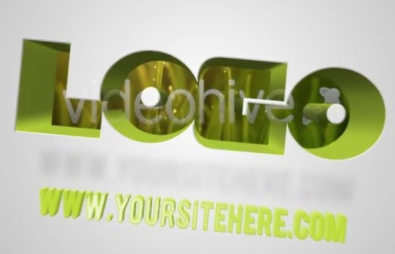 AE模板-视频创意文字遮罩LOGO动画 VideoHive Alpha Logo