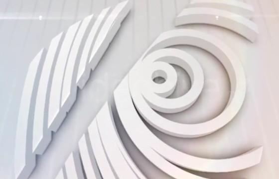 AE模板-简洁白色LOGO动画显示 Bright Logo Reveal